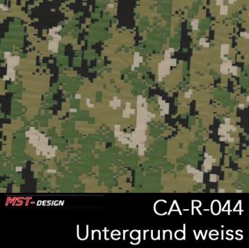 """Wassertransferdruck Folie """"Camouflage grün"""" 1 m x 50 cm Breite"""